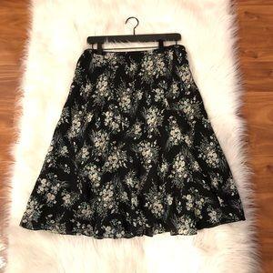 Jones New York l Floral Midi Skirt